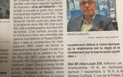 Hervé Louboutin : « Mai 68 chez Louis XVI »